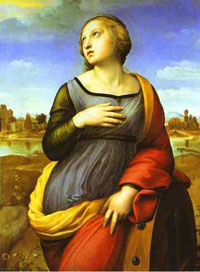 'Saint Catherine of Alexandria' by Raphael